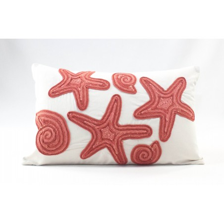 Cushion Red Stars