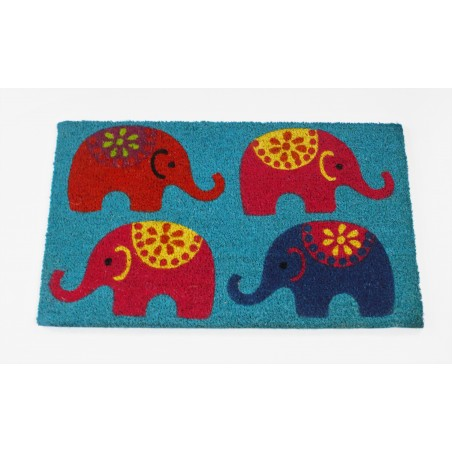 Doormat Elephants
