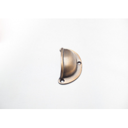 Brass handle semicircular