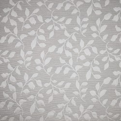 Matelassé fabric with floral pattern
