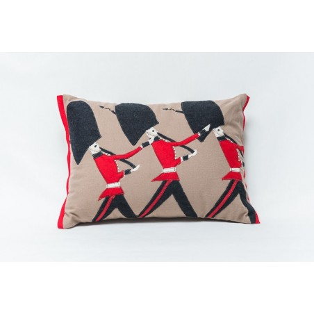 Coldstream Guards Cushion