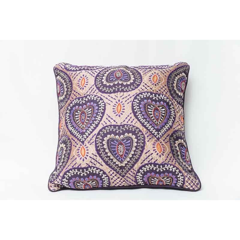 Purple cushion
